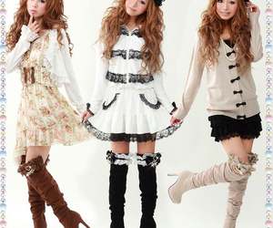 fashion, kawaii, and dress image
