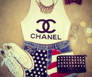 chanel, love, and converse image