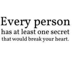 secret, heart, and quote image