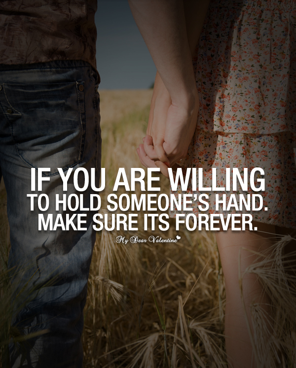 If You Are Willing To Hold Someones Hand Picture Quotes