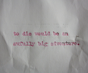 peter pan, adventure, and text image