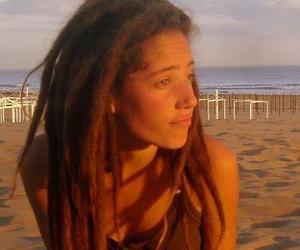 dreads and girl image