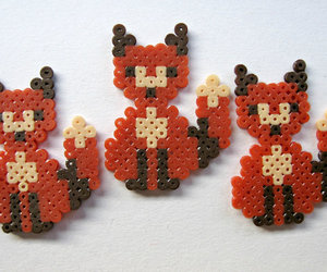 decoration, fox, and foxes image