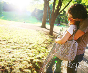 beautiful, Central Park, and couple image