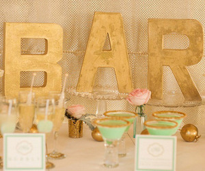 colors, emerald green, and bridal shower image