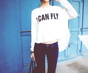 fashion, girl, and i can fly image