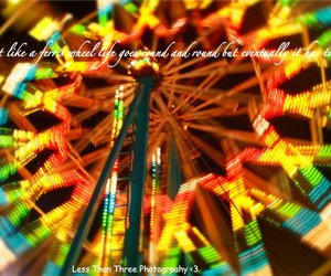 carnival, ferris wheel, and life image