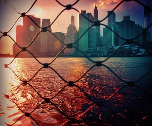 new york, city, and love image