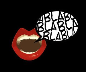 lips, black, and red image