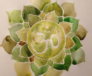 art, mandala, and Ohm image