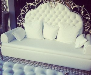 white, luxury, and sofa image