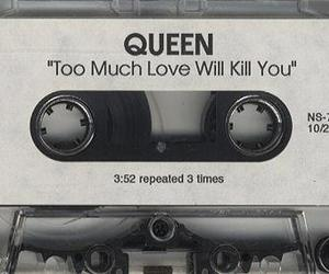 Queen, love, and music image