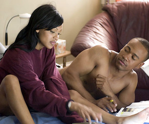 african american, couple, and couples image