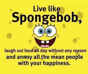 spongebob, laugh, and happiness image