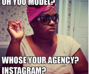 model, instagram, and funny image