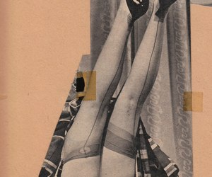 Collage, fashion, and knickers image