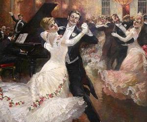 couple, dancing, and xix image