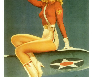 Pin Up, vintage, and pinup image