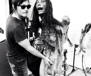 the walking dead, zombie, and norman reedus image