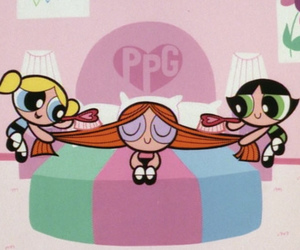 cartoon, pink, and ppg image