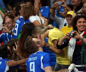 couple, italy, and volley image