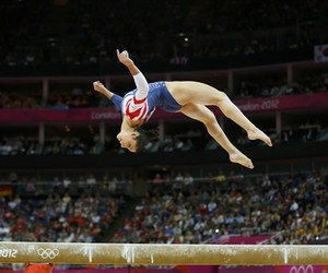 beam and gymnastics image