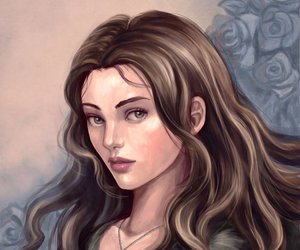 stark, game of thrones, and lyanna image