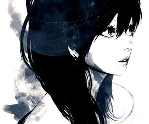 girl, anime, and drawing image