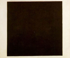 black, square, and Malevich image