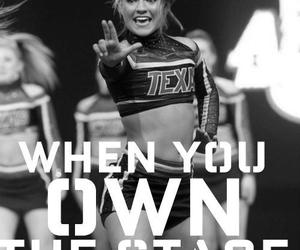 cheer, cheerleader, and quote image