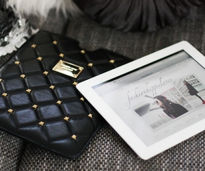 ipad, black, and luxury image