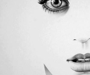 drawing, katy perry, and eyes image