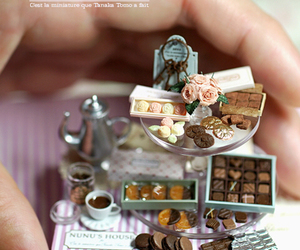 chocolate, sweets, and miniature image