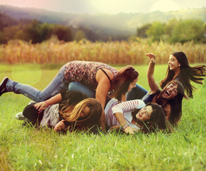 friends, friendship, and fun image