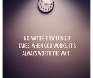 god, quote, and wait image
