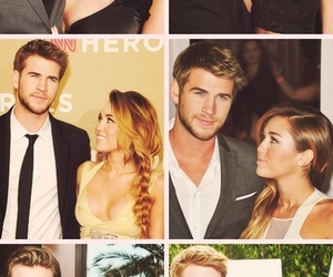 miley cyrus, love, and couple image