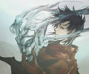 anime, ergo proxy, and vincent law image