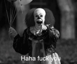 balloons, middle finger, and ugly image