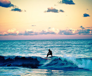 surf, sea, and ocean image