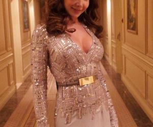 beautiful, dress, and nancy ajram image