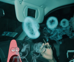 smoke, patrick, and weed image