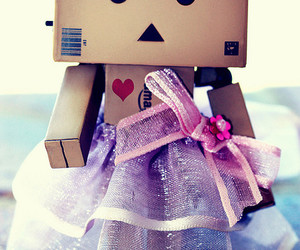 cute, dress, and danbo image