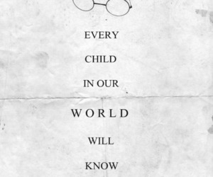 child, end, and harry potter image
