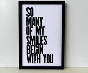 smile, love, and you image
