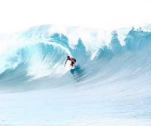 beautiful, blue, and surf image