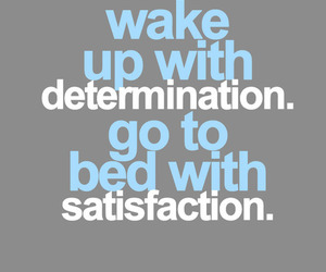 determination, fit, and do it image