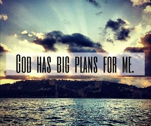 god, plan, and quote image