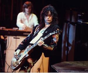 guitar, jimmy page, and led zeppelin image
