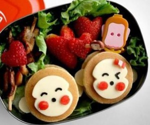 food, smile, and happy image