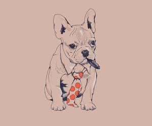 dog, boss, and bulldog image